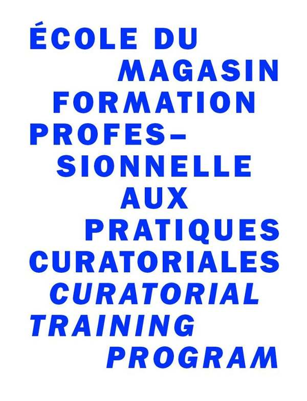 École du Magasin, curatorial training programm, Session 25